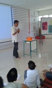 Simulasi Bahaya Rokok di SD Teuku Nyak Arief Fatih Bilingual School Banda Aceh, 3 Juli 2015